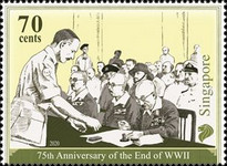 [The 75th Anniversary of the End of World War II, Typ CFI]