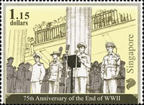 [The 75th Anniversary of the End of World War II, Typ CFK]