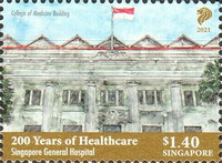 [The 200th Anniversary of Healthcare - Singapore General Hospital, type CHP]