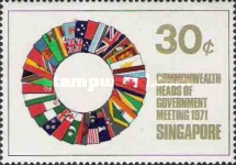 [Commonwealth Heads of Government Meeting, Singapore, type CQ]