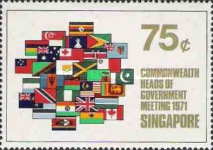 [Commonwealth Heads of Government Meeting, Singapore, type CR]