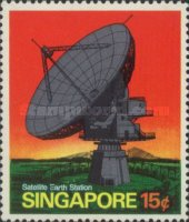 [Opening of Satellite Earth Station of Singapore, type DC]