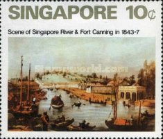 [Paintings of Singapore, type DH]