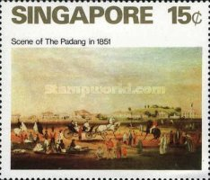 [Paintings of Singapore, type DI]