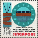 [National Day - The 10th Anniversary of Republic of Singapore, Typ GR]