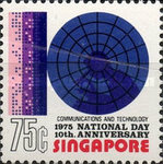 [National Day - The 10th Anniversary of Republic of Singapore, Typ GS]