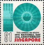 [National Day - The 10th Anniversary of Republic of Singapore, Typ GT]
