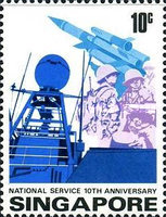 [The 10th Anniversary of National Service, type HS]
