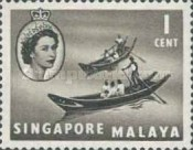 [Queen Elizabeth II, Ships and Other Images, type I]