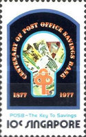 [The 100th Anniversary of Post Office Savings Bank, type IL]