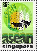 [The 10th Anniversary of Association of South East Asian Nations or A.S.E.A.N., type IP]