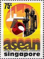 [The 10th Anniversary of Association of South East Asian Nations or A.S.E.A.N., type IQ]