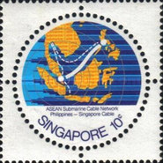 [A.S.E.A.N. Submarine Cable Network - Completion of Philippines-Singapore section, type JJ]