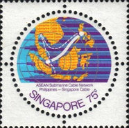 [A.S.E.A.N. Submarine Cable Network - Completion of Philippines-Singapore section, type JJ3]