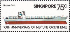 [The 10th Anniversary of Neptune Orient Shipping Lines, type JN]