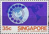[The 100th Anniversary of the Telephone, Typ KC]