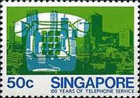 [The 100th Anniversary of the Telephone, type KD]