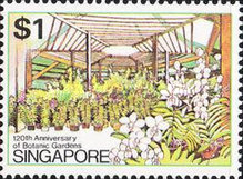 [The 120th Anniversary of Botanical Gardens, Typ KL]