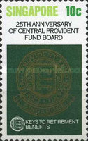 [The 25th Anniversary of Central Provident Fund Board, type LD]