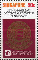 [The 25th Anniversary of Central Provident Fund Board, type LE]
