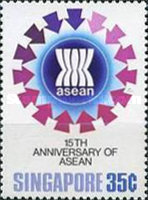 [The 15th Anniversary of Association of South East Asian Nations or A.S.E.A.N., type MH]