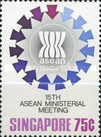 [The 15th Anniversary of Association of South East Asian Nations or A.S.E.A.N., type MJ]