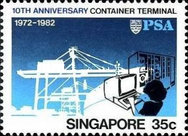 [The 10th Anniversary of Container Terminal, type MR]