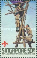[The 75th Anniversary of Boy Scout Movement, type MW]