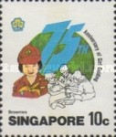 [The 75th Anniversary of Girl Guide Movement, type PJ]