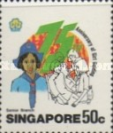 [The 75th Anniversary of Girl Guide Movement, type PL]