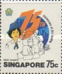 [The 75th Anniversary of Girl Guide Movement, type PM]