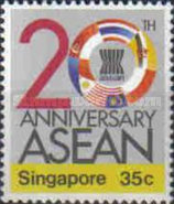 [The 20th Anniversary of Association of Southeast Asian Nations or ASEAN, Typ QR]