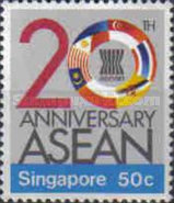 [The 20th Anniversary of Association of Southeast Asian Nations or ASEAN, Typ QS]