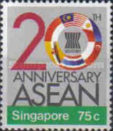 [The 20th Anniversary of Association of Southeast Asian Nations or ASEAN, Typ QT]