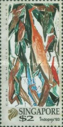 [Arts and International Stamp Exhibition