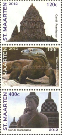 [International Stamp Exhibition JAKARTA 2012 - Indonesia, Typ ]