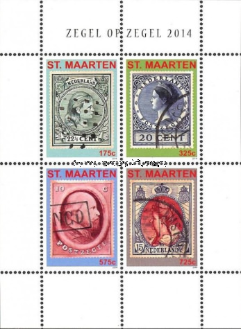 [Stamps on Stamps, Typ ]