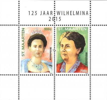 [The 125th Anniversary of the Birth of Queen Wilhelmina, 1880-1934, type ]