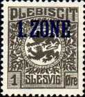 """[Overprinted """"1.ZONE"""", type A]"""