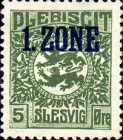 """[Overprinted """"1.ZONE"""", type A1]"""