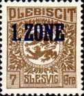 """[Overprinted """"1.ZONE"""", type A2]"""