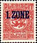 """[Overprinted """"1.ZONE"""", type A3]"""