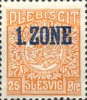 """[Overprinted """"1.ZONE"""", type A6]"""