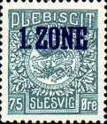 """[Overprinted """"1.ZONE"""", type A9]"""
