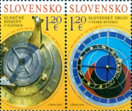[Astronomical Clock, Stará Bystrica - Joint Issue with Slovenia, type ]