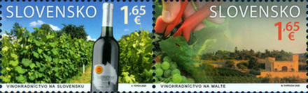 [Viticulture - Joint issue with Malta, type ]