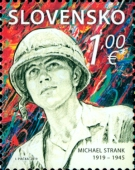 [The 100th Anniversary of the Birth of Michael Strank, 1919-1945, Typ ACB]