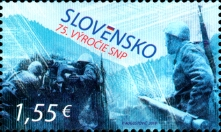 [The 75th Anniversary of the SNU - Slovak National Uprising, type ACO]