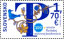 [The 100th Anniversary of the Treaties of Paris, type ACR]