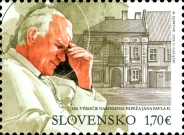 [The 100th Anniversary of the Birth of Pope John Paul II, 1920-2005 - Joint Issue with Poland, type ADK]